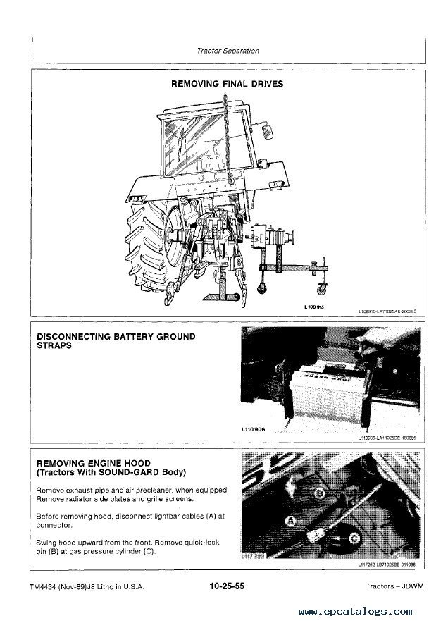 John Deere 2355 2555 2755 2855n Tractors Tm4434 Pdf. Repair Manual John Deere 2355 2555 2755 2855n Tractors Tm4434 Technical Pdf 4. John Deere. 2355 John Deere Electrical Diagram At Scoala.co
