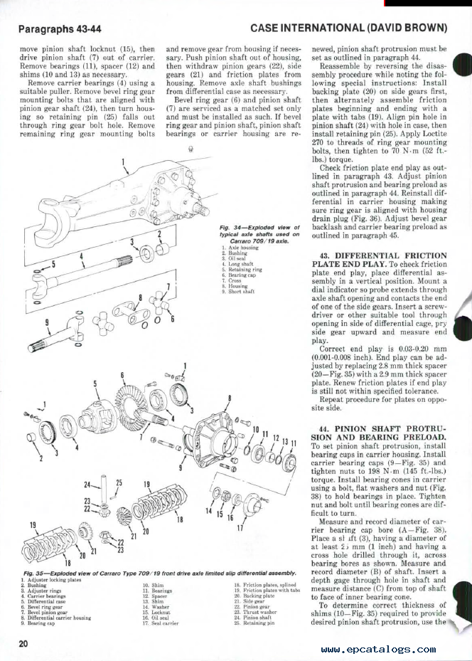 case ih tractors 1190 1690 shop manual pdf rh epcatalogs com All Lawn Mower Wiring Diagrams Garden Tractor Ignition Wiring Diagrams