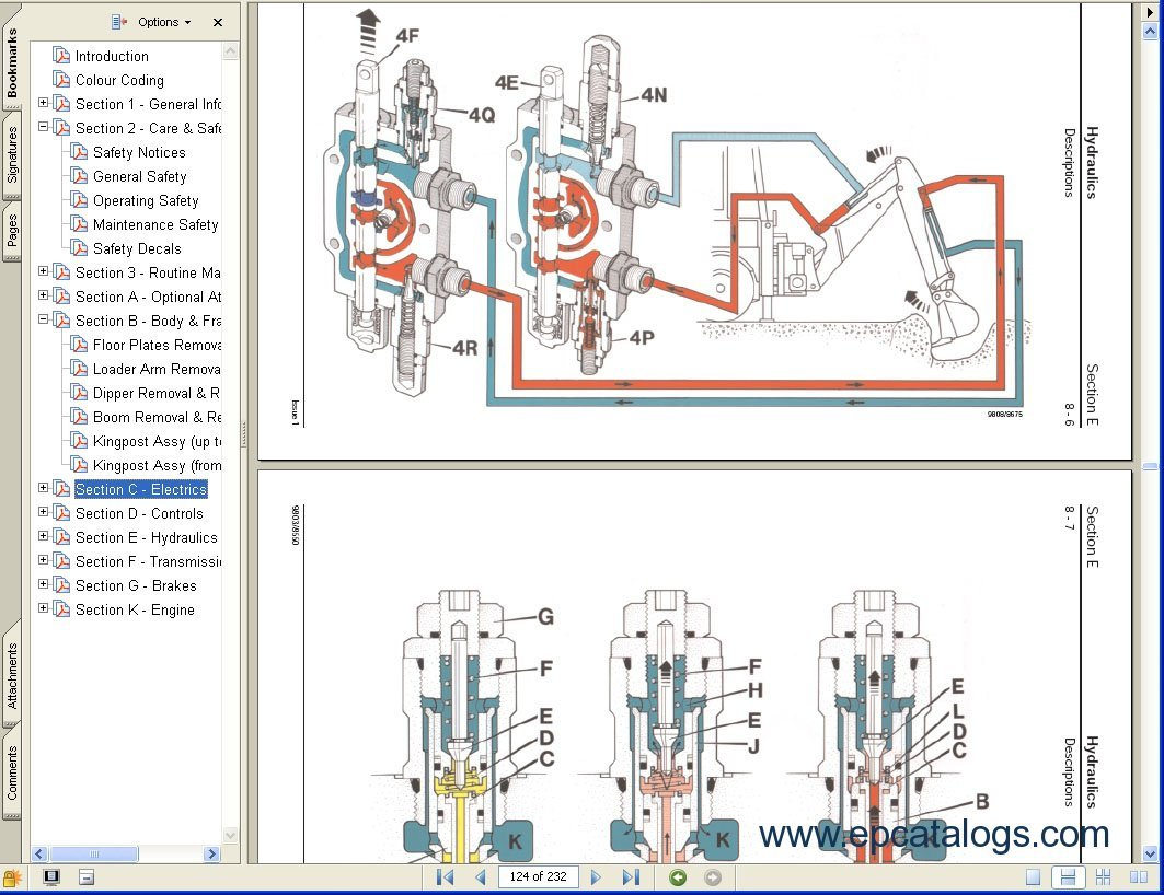 Jcb Service Manuals S A on Jcb Alternator Wiring Diagram