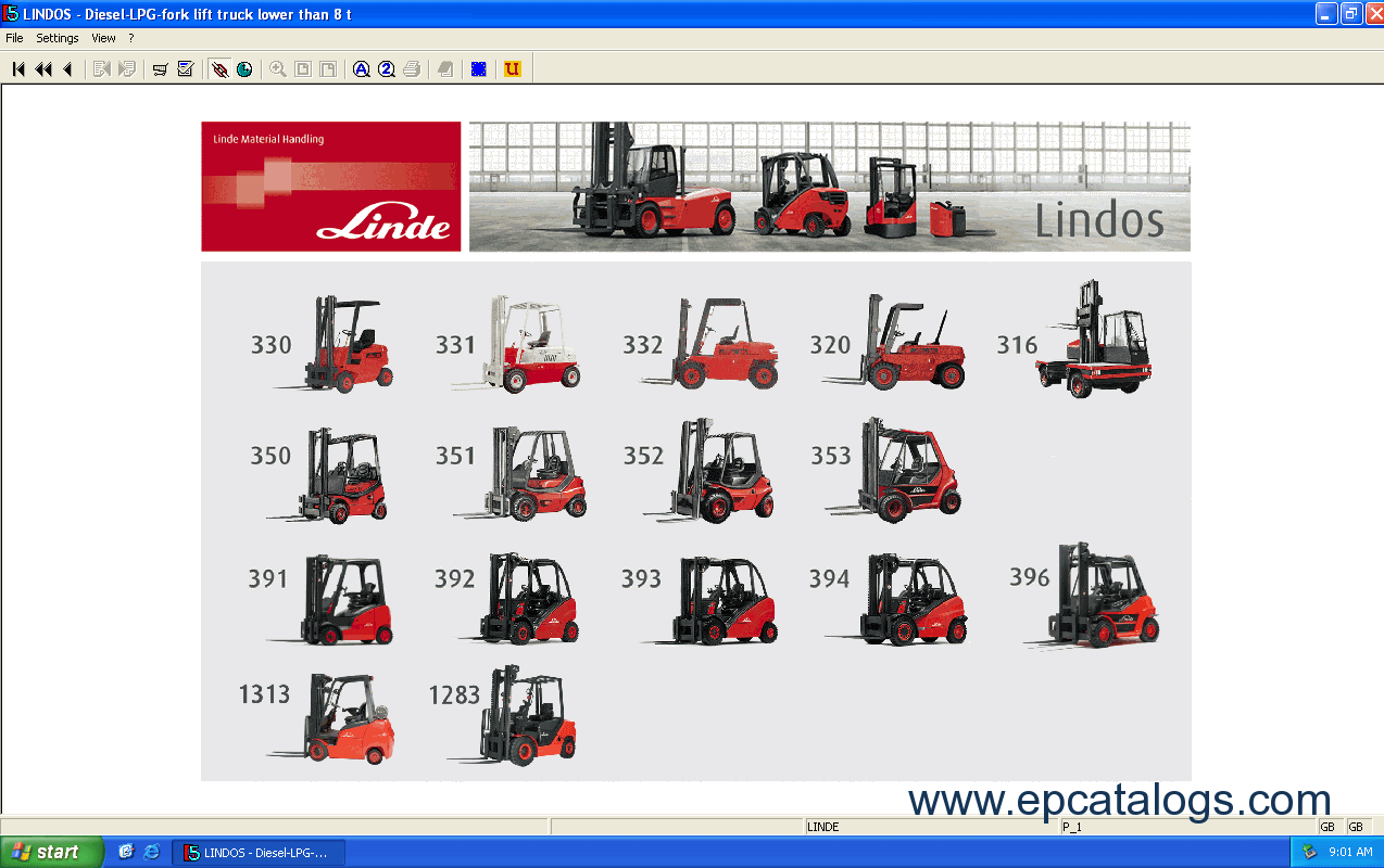 linde fork lift truck 2014 parts manual download rh epcatalogs com linde h25 forklift parts manual Nissan Forklift Parts