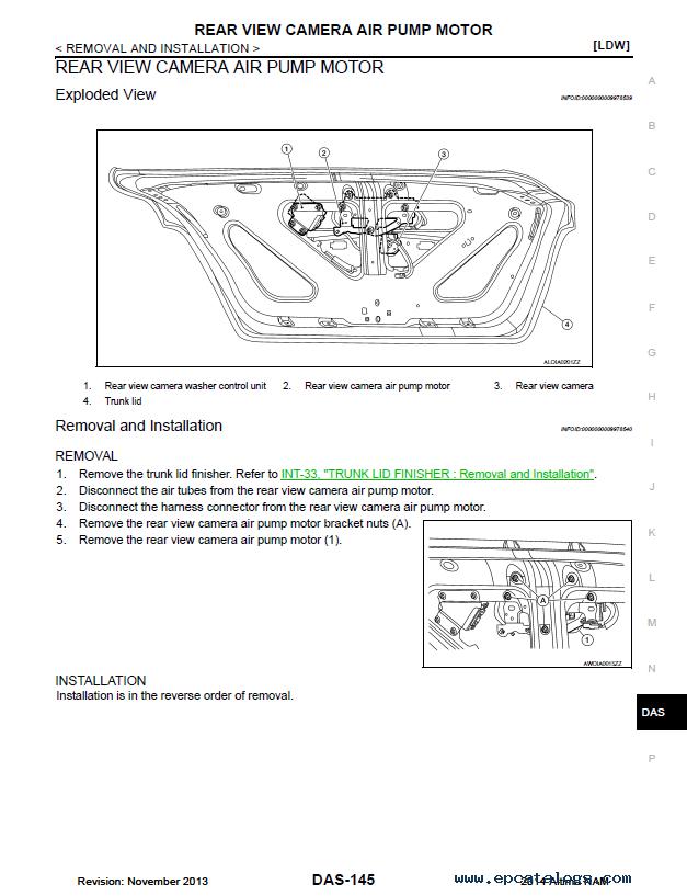 Nissan Altima Model L Series Service Manual Pdf