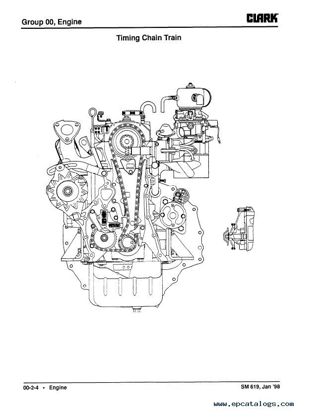 Clark G127 Gp127 G127e Gp127e Service Manual Pdf Download