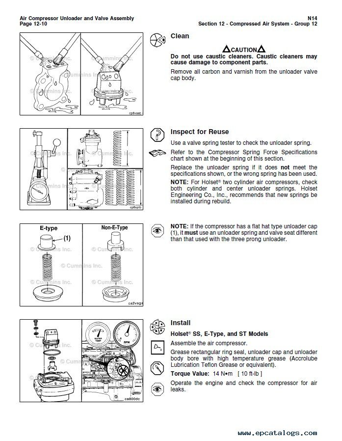 cummins n14 base engine stc celect celect plus pdf rh epcatalogs com Cummins N14 Celect Plus Cummins N14 Celect Plus