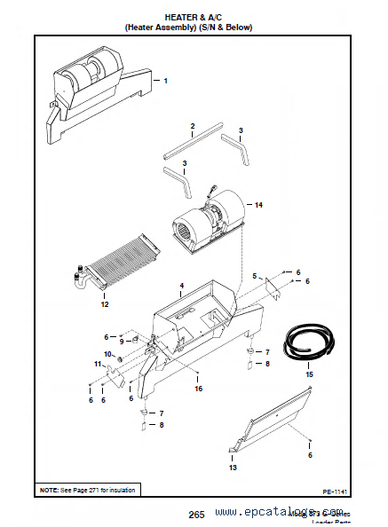Bobcat 873 F Series Parts Diagram