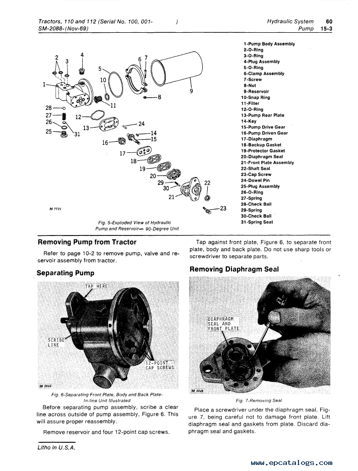 online service manuals for tractors