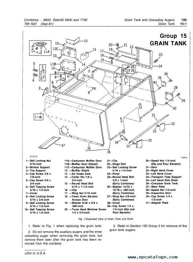 john deere model 40 service manual