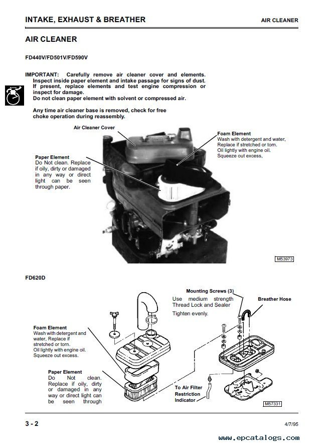 John Deere Injection Pump Troubleshooting >> John Deere K Series Liquid-Cooled Engines CTM39 PDF