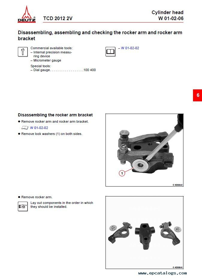 Deutz Engine Tcd 2012 2v Workshop Manual