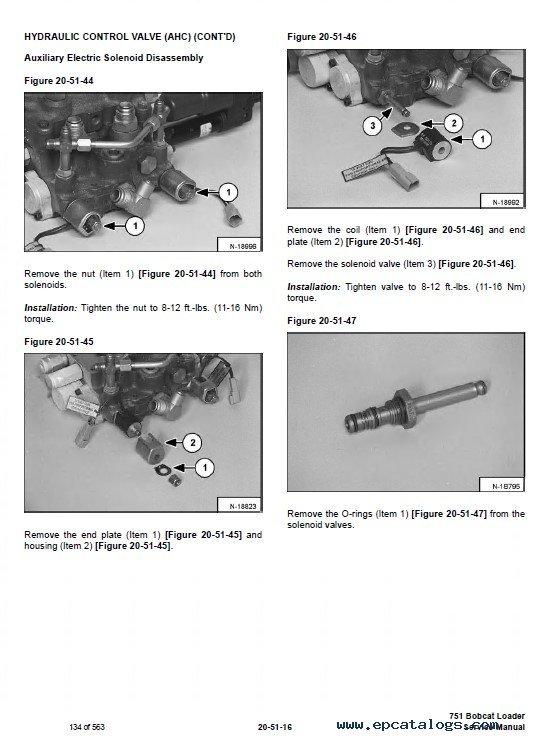 Bobcat 751 Skid Steer Loader Service Manual PDFEPCATALOGS