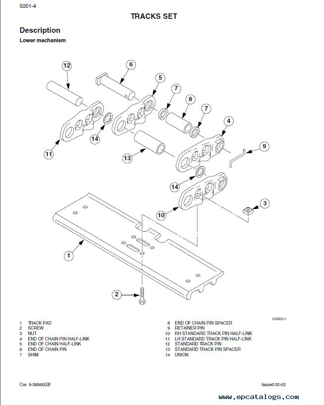 Case CX700 Crawler Excavator Service Manual PDF