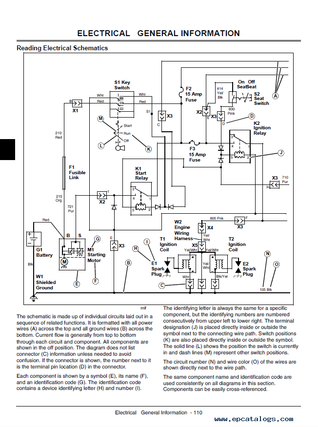 gator 850d wiring diagram example electrical wiring diagram u2022 rh cranejapan co Lights Over Head for John Deere Gator Fuse Box john deere gator hpx fuse panel diagram