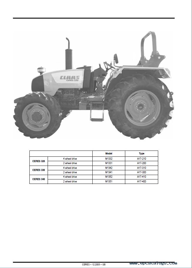 claas renault ceres 326 336 346 tractors pdf manual rh epcatalogs com Chevy Steering Box ID Numbers 69 Camaro Manual Steering Box
