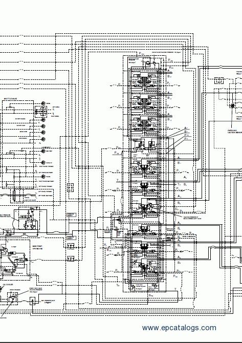 Komatsu Excavator Pc450