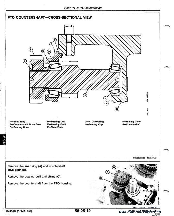 john deere 6800 6900 tractor pdf manual rh epcatalogs com John Deere Manuals Online Shop John Deere LT133 Manual Online