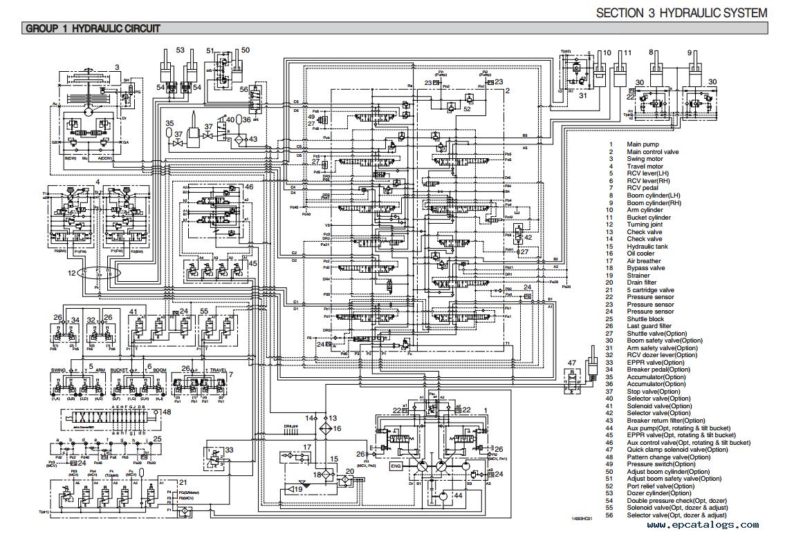 repair manual Hyundai R145CR-9A Crawler Excavator Service Manual - 4