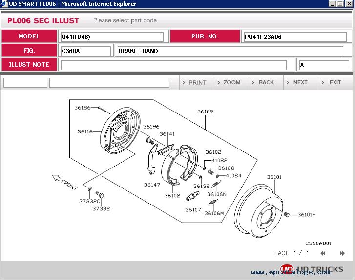nissan ud trucks epc 2015 spare parts catalog download rh epcatalogs com 93 Chevy Truck Wiring Diagram 93 Chevy Truck Wiring Diagram