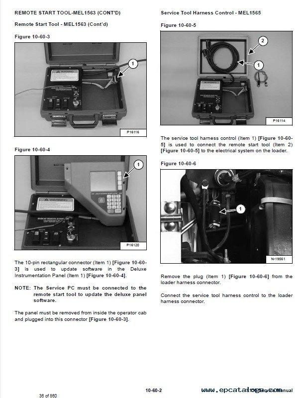 bobcat s150 skid steer loader service manual pdf repair manual forklift trucks manuals