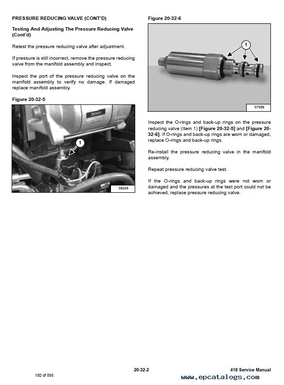 Bobcat 418 Compact Excavator Service Manual Pdf