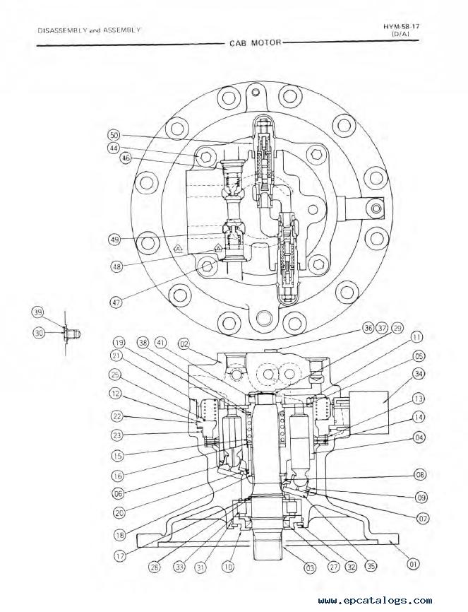 Fiatallis Fx310 Crawler Excavator Pdf Repair Manual Download