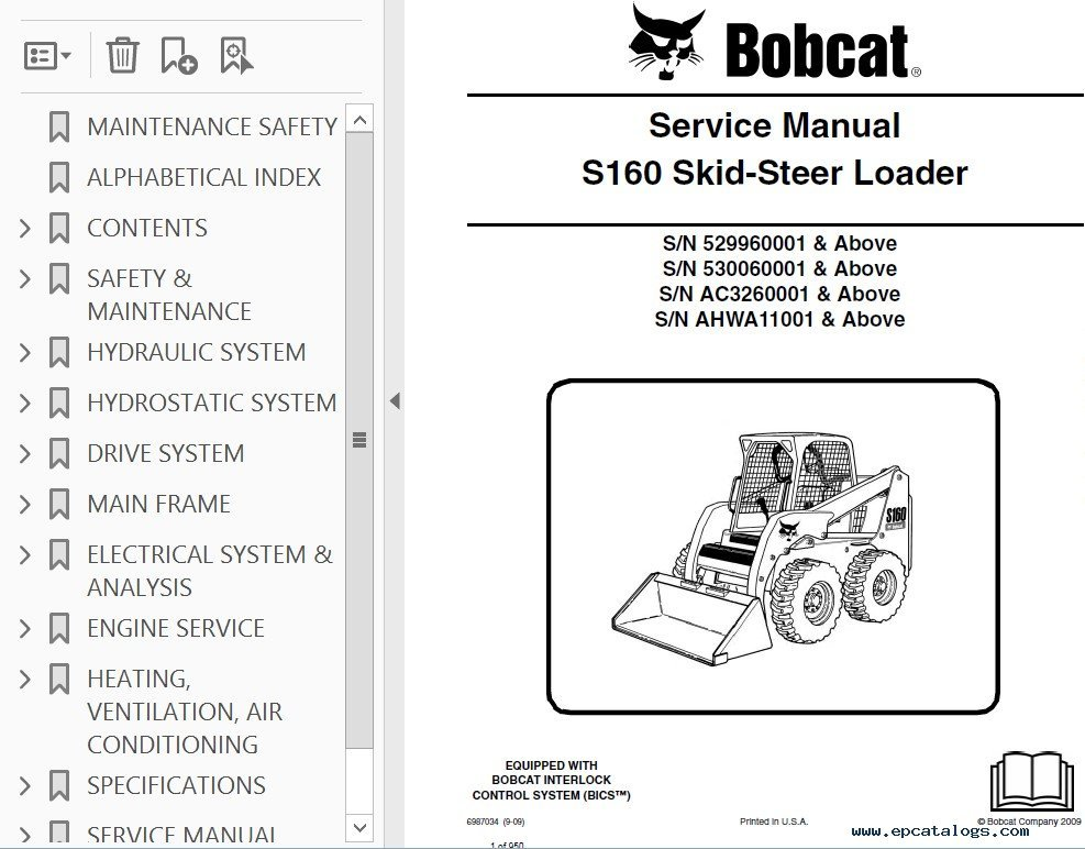 Bobcat Skid Loader Belt Diagrams Find Image