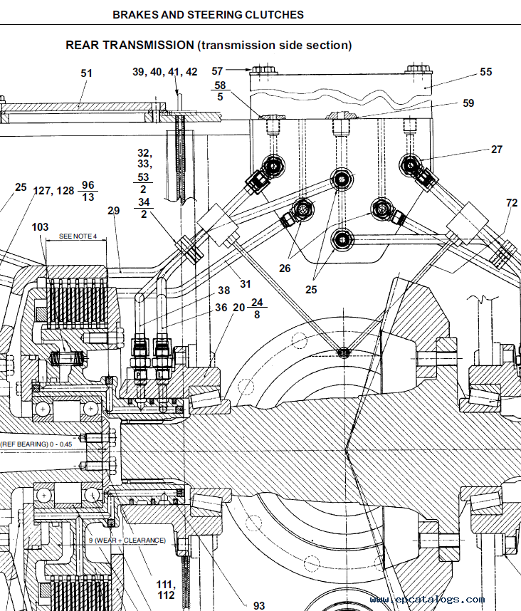 New Holland Crawler Dozer D180  Tier 3  Workshop Manual Pdf