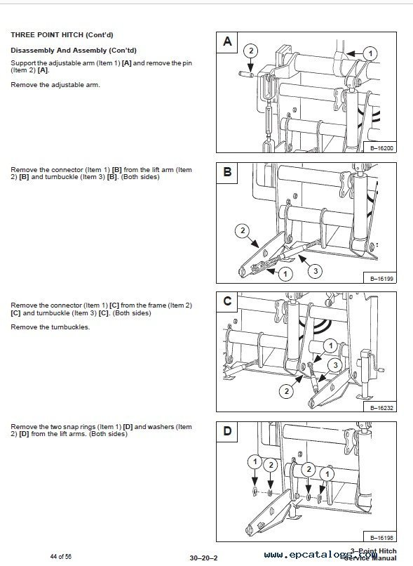 3 Point Hitch Schematic : Bobcat three point hitch service manual pdf