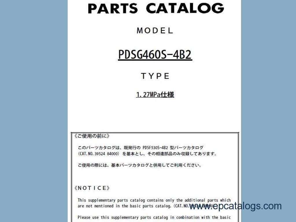 Airman Hokuetsu Pdf Spare Parts Catalog Download