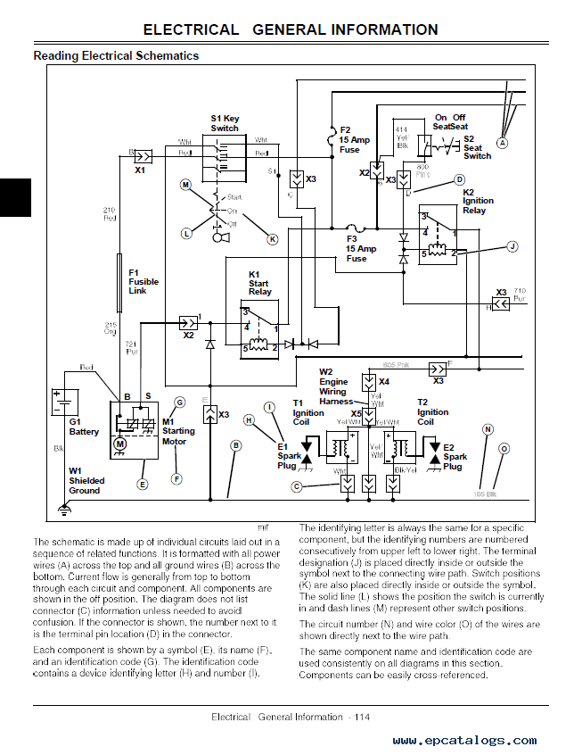 Wiring Diagram For John Deere 2305 : John deere compact utility tractor tm pdf manual