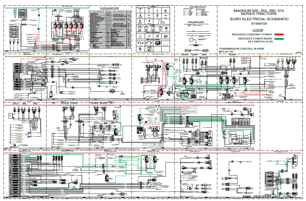case 210 tractor wiring diagram  | 1028 x 677
