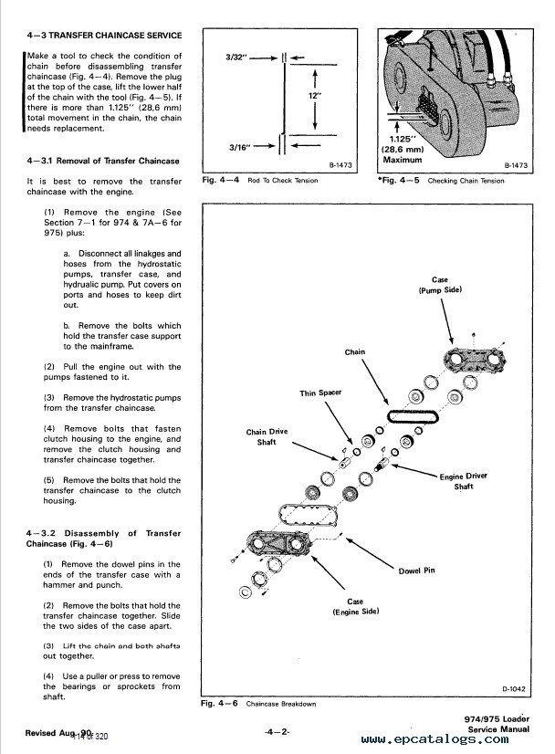 Bobcat 974, 975 Skid Steer Loader Service Manual PDF