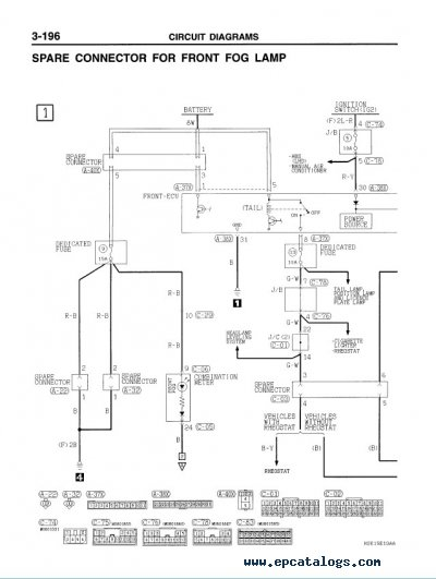 Wiring Diagram Of Mitsubishi