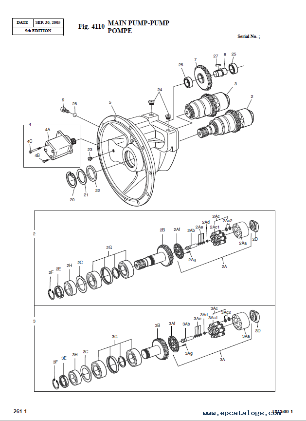 Terex Ignition Switch Wiring Diagram