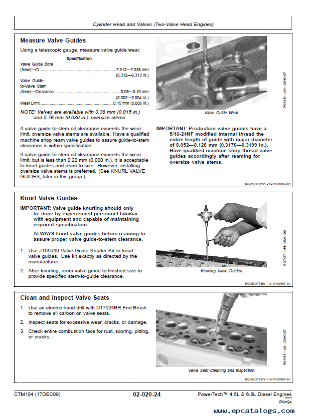 John Deere Powertech L L Diesel Engines Base Engine Ctm Pdf on John Deere Oem Parts Diagram