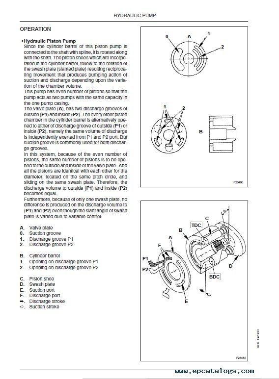 download fiat kobelco e16 e18 evolution excavators pdf