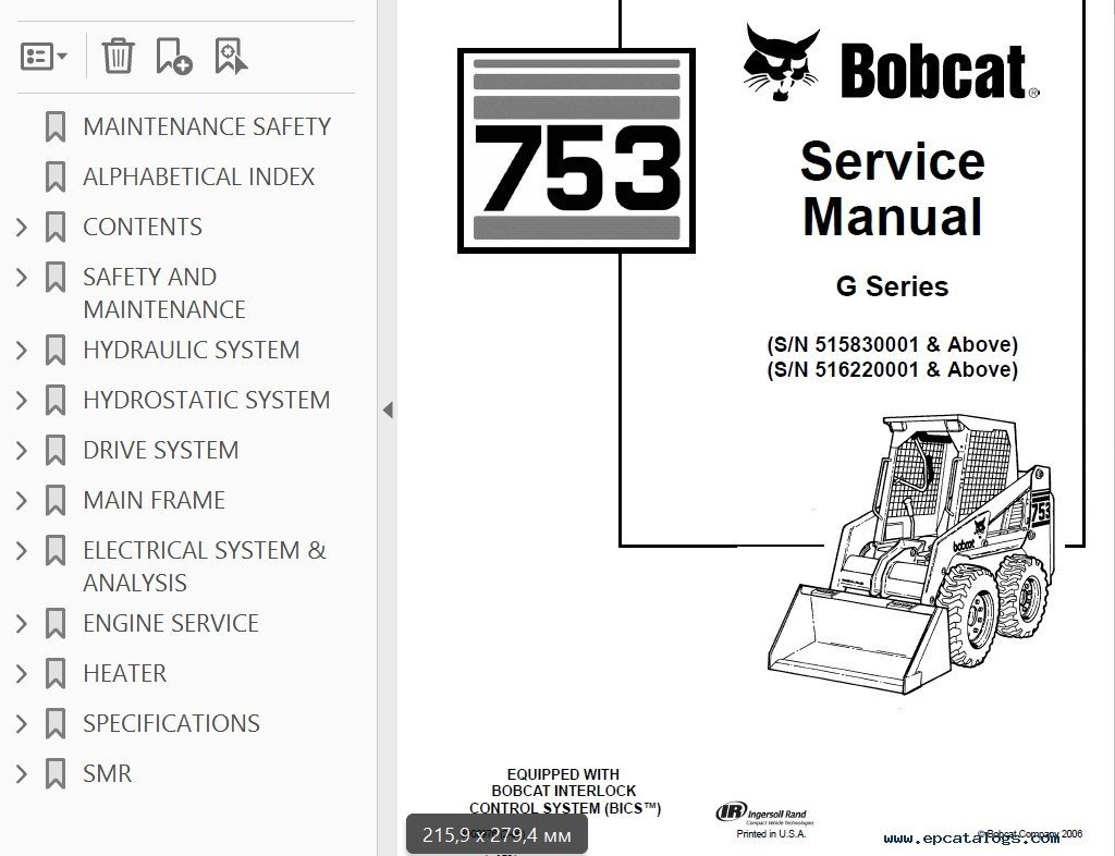 Bobcat 863 Wiring Harness - Free Wiring Diagram For You • on