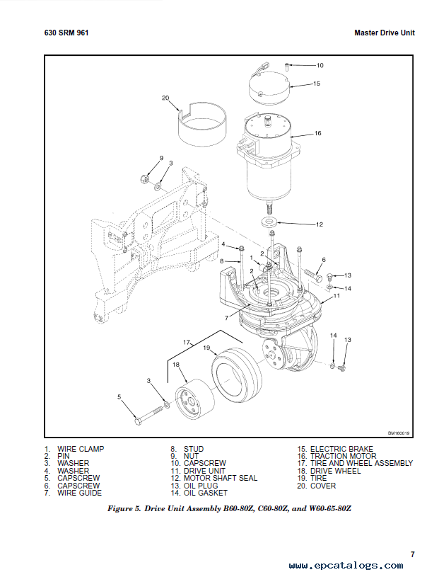 Hyster Class 3 For B454 (W25-40ZC) Electric Motor Hand Trucks PDF Manual