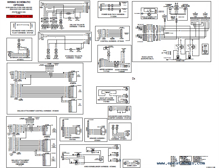 bobcat s185 turbo skid steer loader service manual pdf bobcat s185 wiring diagram 28 images wiring harness part bobcat 763 wiring diagram free at n-0.co