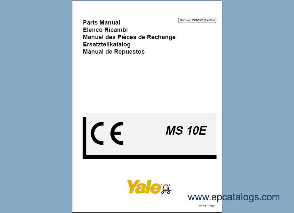 Yale forklift owner Manual YALE Manual Best Repair Manual