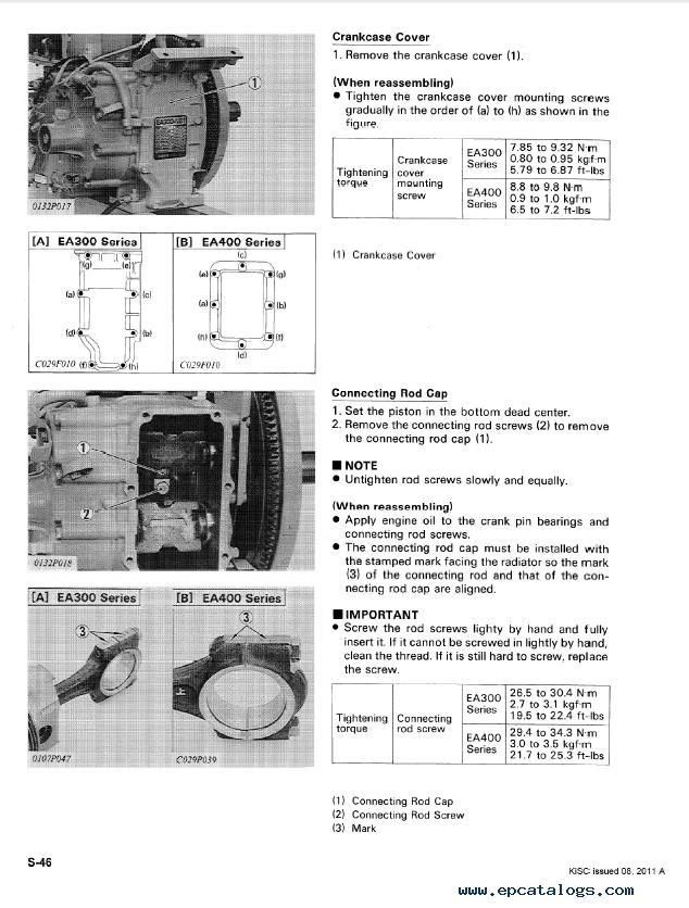 Mistral Ea300 Parts manual