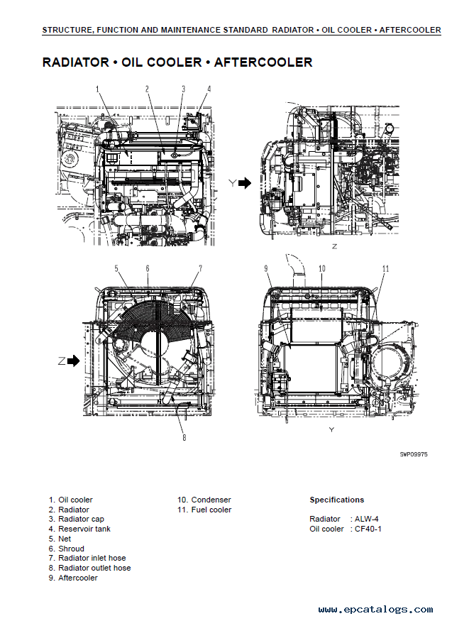 Komatsu PC450-7K and PC450LC-7K Excavator Shop Manual PDF