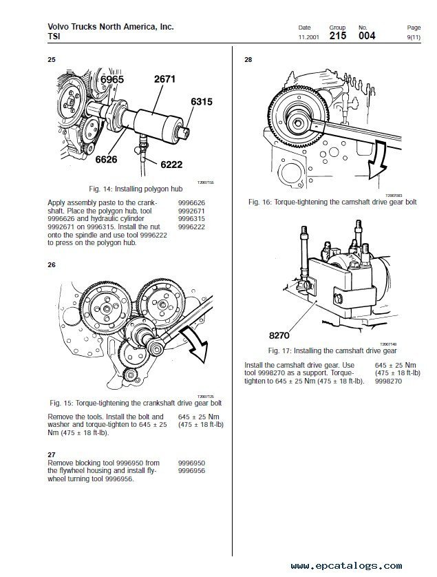 volvo d12 engine brake diagram