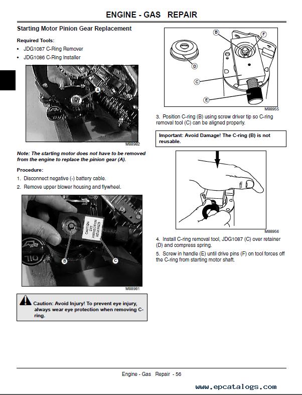 John Deere LA130 LA140 LA150 Lawn Tractor TM2371 Technical Manual PDF