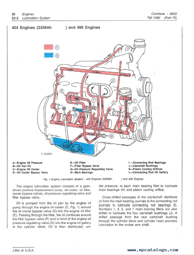John Deere Combine 6602 Technical Manual Tm1080 Pdf