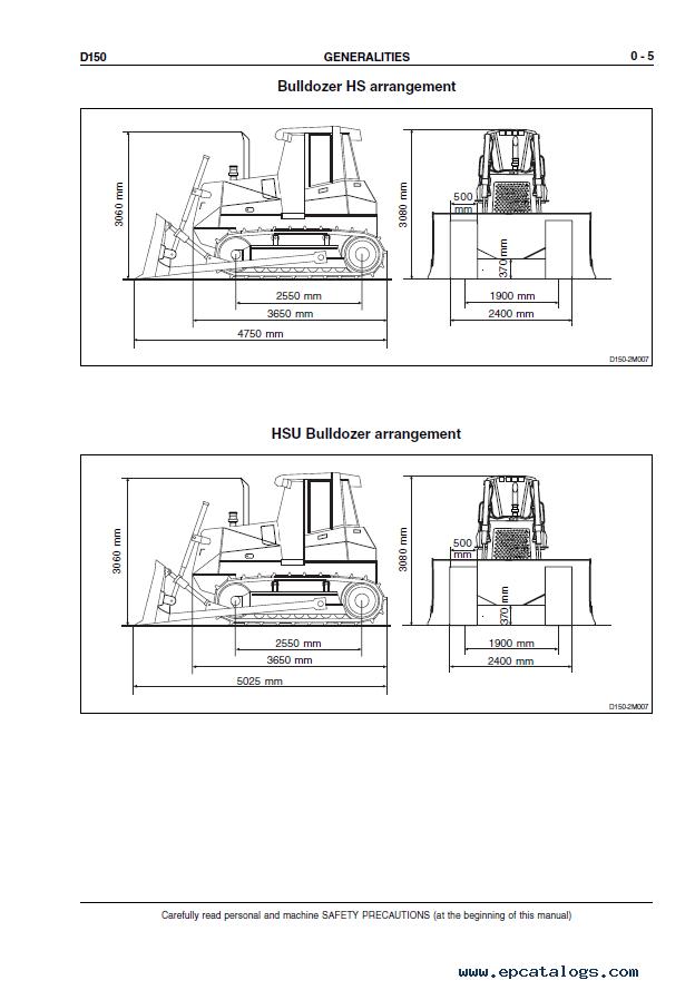 New Holland Crawler Dozer D150 Workshop Manual PDF