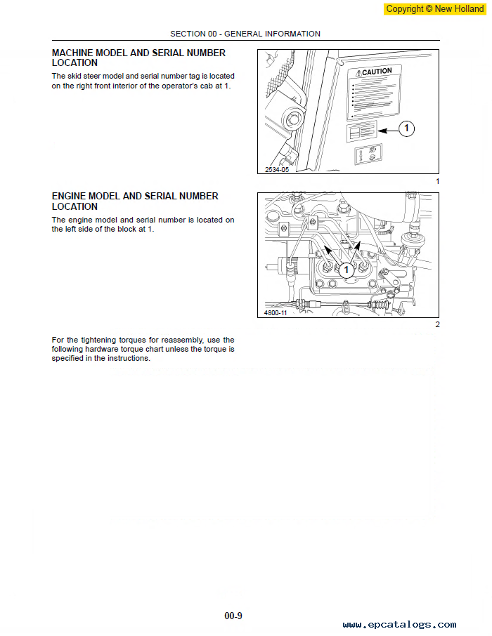 New Holland Ls160 Ls170 Skid Steer Loader Pdf Manual