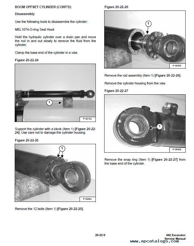 Parts manual Bobcat 442