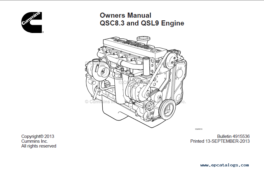 download cummins engine qsc8 3 qsl9 owner manual pdf