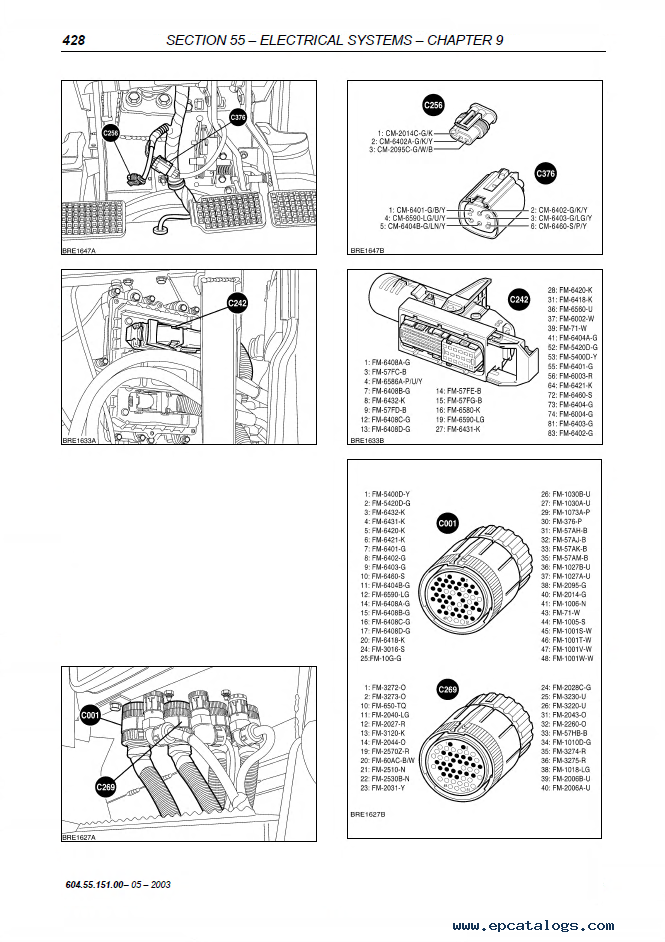 New Holland T6000 Tractors Repair Manual PDF on