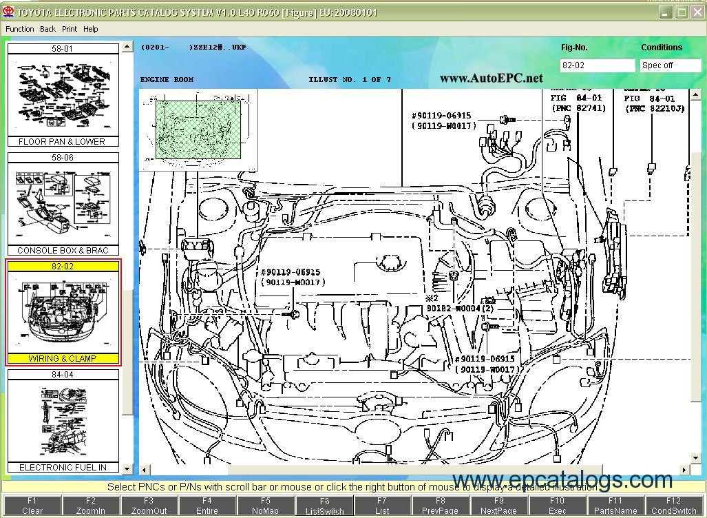 ebay com rh lexus genuine performance oem diagram parts rx gusset wiring catalog center