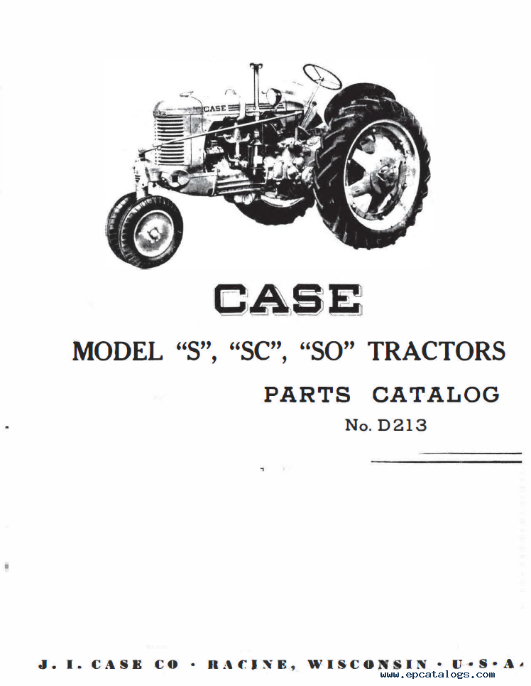 Case S Series Tractors Amp Engines Service Amp Parts Manual Pdf